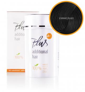 Plus Additional Hair – Black