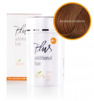 Plus Additional Hair – light brown